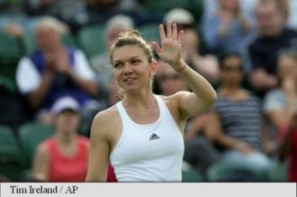 Simona Halep s-a calificat în turul al doilea la Wimbledon