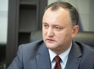 Igor Dodon: Astăzi PSRM este cea mai solidă formațiune politică din Republica Moldova