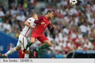EURO 2016: Portugalia, prima semifinalistă, după 5-3 cu Polonia la lovituri de departajare