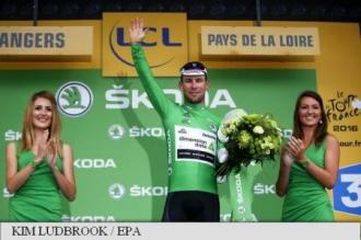 Turul Franței - Cavendish câștigă etapa a 3-a, Sagan pătrează tricoul galben