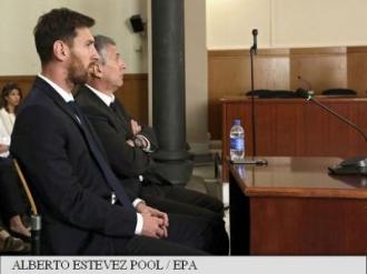 Lionel Messi și tatăl său, condamnați la 21 de luni de închisoare pentru fraudă fiscală