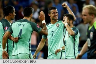 EURO 2016: Portugalia e prima finalistă, după 2-0 cu Țara Galilor