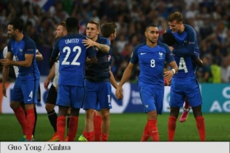 EURO 2016: Franța va juca finala cu Portugalia, după 2-0 cu Germania