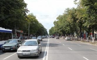 Străzile capitalei, fără marcaje rutiere
