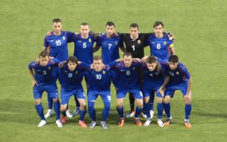 Selecţionata Moldovei a coborît șapte poziţii în clasamentul FIFA