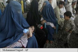 Afganistan: Aproape 150.000 de persoane strămutate în prima jumătate a anului