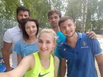 Naționala de tenis pe plajă a reușit prima victorie la turneul de la Moscova