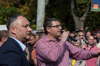 Renato Usatîi îl va susține pe Igor Dodon la alegerile prezidențiale