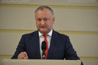 """Igor Dodon: Guvernul Filip va rămîne în memoria cetățenilor drept """"Guvernul care a legalizat furtul miliardului"""""""
