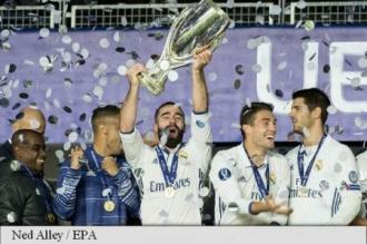 Real Madrid a câștigat Supercupa Europei după prelungiri, 3-2 cu Sevilla FC