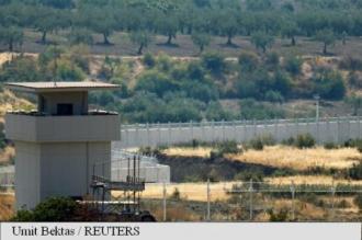 Turcia construiește ziduri la granița cu Siria