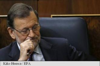 Parlamentul spaniol votează din nou împotriva premierului Mariano Rajoy