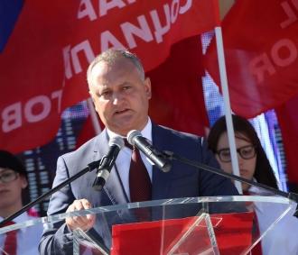 Cetățenii țării pot semna în susținerea lui Igor Dodon la prezidențiale