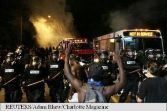 Charlotte, Carolina de Nord: a doua noapte de violențe