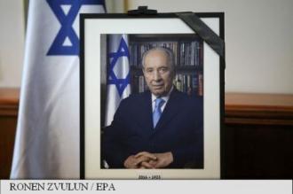 Șefi de stat și guvern, așteptați vineri la funeraliile fostului președinte israelian Shimon Peres