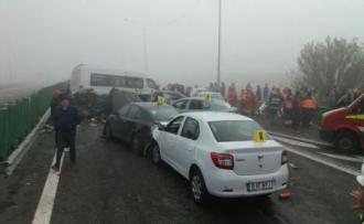 Grav accident pe un traseu din România: 3 morți și peste 50 de răniți