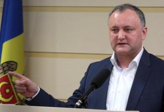 Sondaj: Igor Dodon este viitorul președinte al Moldovei