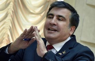 Mihail Saakaşvili a demisionat din funcţia de guvernator al regiunii Odesa
