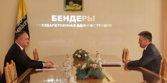 Detalii de la întrevederea lui Igor Dodon cu Vadim Krasnoselski