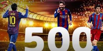 Messi a ajuns la golul 500 pentru Barcelona, după ce a marcat în prelungiri și a decis El Clasico
