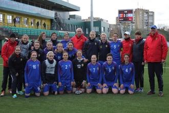 Naționala feminină va juca următorul meci contra Italiei