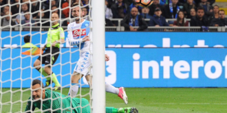 Inter - Napoli 0-1. Milanezii, aproape să rateze Europa!