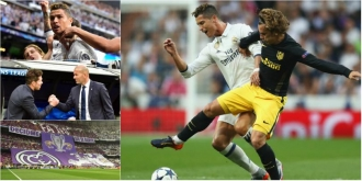 Real Madrid - Atletico Madrid 3-0. Seara gigantului Ronaldo