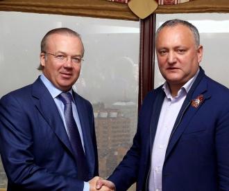 Oameni de afaceri din Rusia, în vizită la Chișinău
