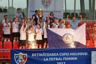 Real Succes a câștigat Cupa Moldovei la fotbal feminin