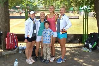 Naționala de tenis a Moldovei a obținut o nouă victorie la Fed Cup