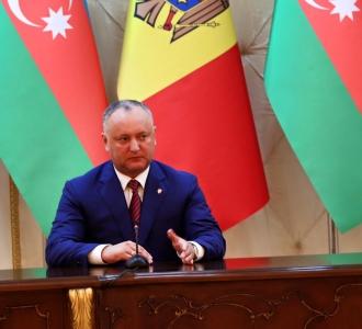 Președintele țării, la sfat cu reprezentanții diasporei moldovenești din Azerbaidjan
