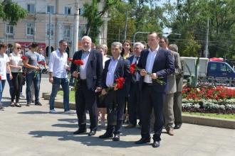Socialiștii au marcat a 27-a aniversare de la adoptarea Declarației de Suveranitate a Moldovei
