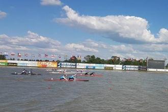 Canotorii Oleg Nuța și Ilie Sprîncean au devenit campioni europeni la tineret
