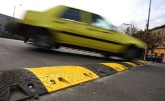 Limitatoarele de viteză, instalate cu multe abateri