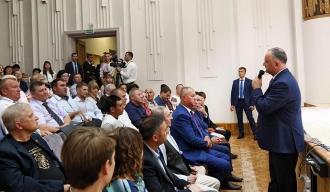 Igor Dodon, la sfat cu reprezentanții diasporei din Belarus