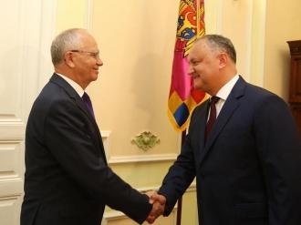 Președintele Igor Dodon a avut o întrevedere cu Ambasadorul Federației Ruse în Moldova