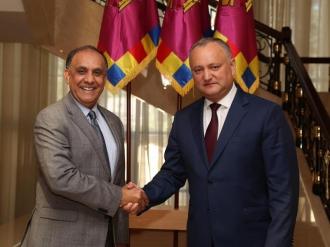 Președintele țării a avut o întrevedere cu ex-ambasadorul SUA în Moldova