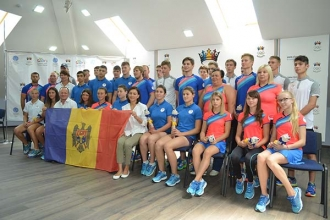 A fost prezentat lotul Moldovei de la FOTE