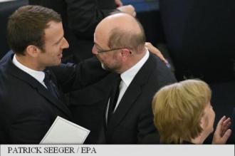 Macron și rivalul lui Merkel sunt de acord să reformeze zona euro