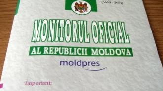 Legea privind modificarea Codului Electoral, publicată în Monitorul Oficial