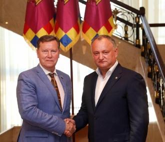 Relaţiile moldo-ruse în contextul evenimentelor de ultimă oră, discutate la Președinție