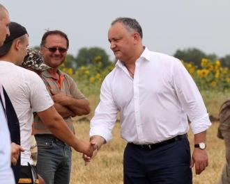 Igor Dodon, într-o vizită de lucru în Găgăuzia