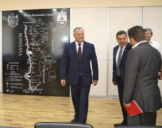 Șeful statului, în vizită în raionul Cahul