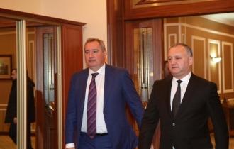 Igor Dodon și Dmitri Rogozin se vor întâlni la Teheran