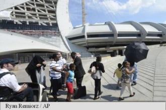 Autoritățile canadiene amenajează stadionul olimpic din Montreal pentru a face față unui val de refugiați