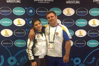 Luptătoarea Anastasia Nichita și-a asigurat o medalie la Mondialului de tineret