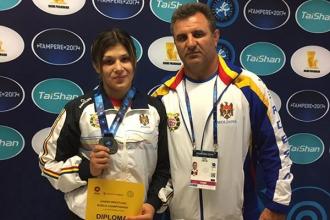 Anastasia Nichita a devenit vicecampioană mondială printre tineret