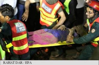 Pakistan: Cel puțin 34 de răniți în explozia unui camion-capcană, în Lahore