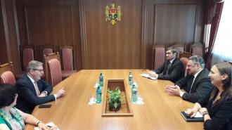 Pirkka Tapiola, la sfârșit de mandat, a avut o întrevedere cu viceprim-ministrul Andrei Galbur