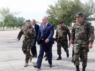 Președintele țării, în vizită de lucru la Bulboaca